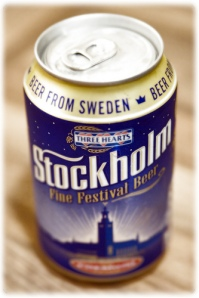 A relatively inexpensive beer, Stockholm Festival